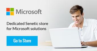 Dedicated Senetic store for Microsoft solutions