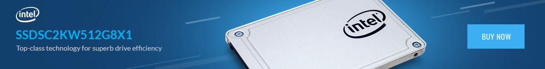 INTEL SSD 545s 512GB 2.5'' SATA 6Gb/s 3D2 TLC Single Pack