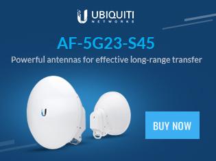 Ubiquiti 5 GHz airFiber Dish, 23 dBi, Slant 45