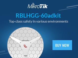 MikroTik Wireless Wire Dish RBLHGG-60adkit